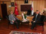 Çanakkale Belediye Başkanı Ülgür GÖKHAN, Belediye Başkanımızı Ziyaret Etti