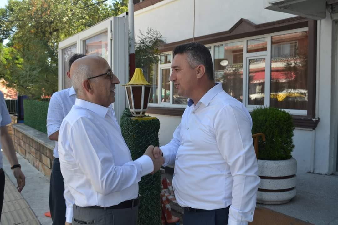 ÇOMÜ Rektörü Prof. Dr. Sedat MURAT Belediye Başkanımızı Ziyaret Etti